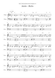 hello free piano sheet music free full piano sheet music adele hello pdf my favourite sentence