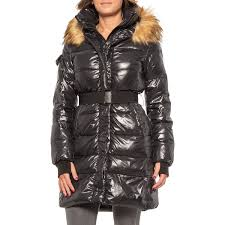 S13 Coat Size Chart S13 Nyc Chalet 36 Double Belted Down Coat For Women