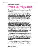 how is love and marriage treated in jane austen s pride and discuss jane austens presentation of the theme of love and marriage in pride and
