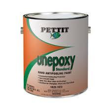 Pettit Unepoxy Plus Modified Epoxy 1 Part Marine Anitfouling Bottom Paint Red Gallon
