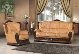 incredible high quality living room furniture antique leather sofa s chicago