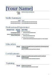 Resume Templates Microsoft Word 2007 Beauteous Free Resume Templates For Word Resumes From Microsoft Professional