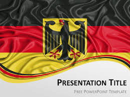 Germany Flag Powerpoint Template Presentationgo Com