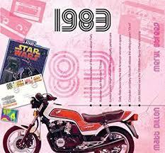 1983 Wedding Anniversary Gift 1983 Chart Hits Cd And 1983 Greeting Card Cd