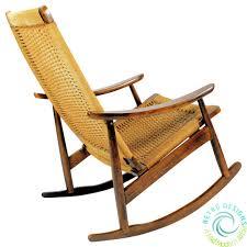 reserved for nick vintage mid century danish hans wegner style yugoslavia woven cord rope rocker rocking chair