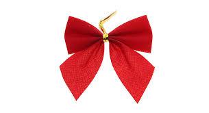 Festive Christmas Decoration Bow-tie Ornaments (12-Piece Pack) ...