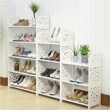 diy 3 tier shoe rack 3 4 5 layers wood european shoe cabinet shoe storage racks