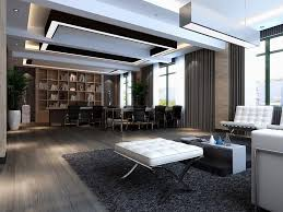Executive Office Layout Design Delectable Stylish Modern Executive Office Interior Design Modern Ceo Office