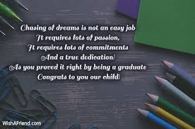 Short Graduation Quotes 41 Wonderful Graduation Messages From Parents