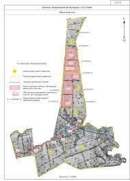 Разработка проекта межевания земельных участков на землях бывшего  Рис 6 Графическая часть проекта межевания