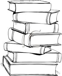 cartoon stack of books free image clipart best