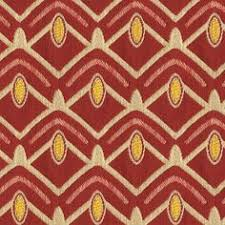 avion pioneer red and yellow geometric woven upholstery fabric fabric dining room chairschair