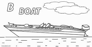 Small Picture Printable Boat Coloring Pages For Kids Cool2bKids