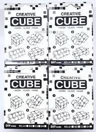 infinity cube creative magic cube folding fidget