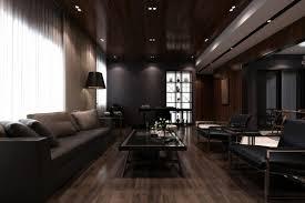 dark furniture for modern interior