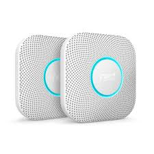 nest protect wired. Plain Nest Nest Protect Wired Smoke And Carbon Monoxide Alarm 2Pack And E