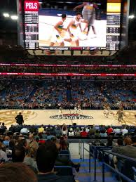 Smoothie King Center Basketball Seating Chart Smoothie King Center Section 113 Row 14 Seat 1 New