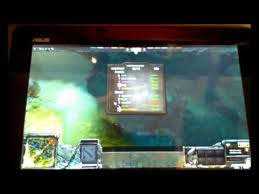 dota 2 on android tablet streamed youtube