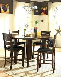 round drop leaf table set round dining table set with leaf round counter height drop leaf