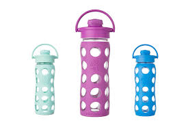 not only are these glass water bottles bpa free but they come in a rainbow selection of cute colours and a choice of diffe cap tops