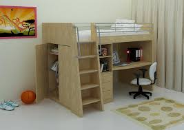 attractive cabin beds for boys offer modern desk for beloved boys prime decors awesome home interior decoration ideas