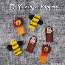 diy finger puppets vicky barone
