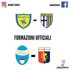 Le formazioni ufficiali di Chievo Verona - Parma e di Spal - Genoa -  MagicFanta