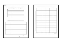 Blank Tally Chart And Bar Graph Worksheet Create Your Own Graphs Create Graph Blank Bar Graph