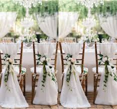 2018 2018 white chair sashes for weddings 30d chiffon 200 65 cm wedding chair covers chiavari chair sashes diy style from yate wedding 2 37 dhgate com
