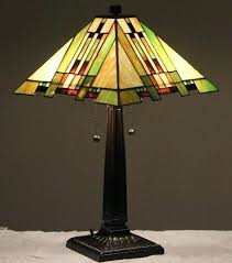 tiffany stained glass lamp. Mission Style Table Lamps Stained Glass Lamp Aspen Tiffany