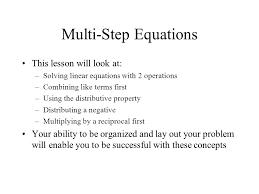 23 multi step