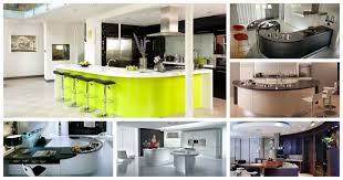 Curved Kitchen Island Designs 16 Impressive Curved Kitchen Island Designs