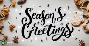 Season Greetings Words Barca Fontanacountryinn Com