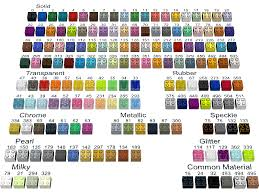 Lego Brick Colour Chart Ldraw Org Colour Definitions