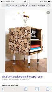 We found really interesting ideas how to make things out of logs. You can  make coffee table out of logs or side tables. If you are very handy you can  make ...