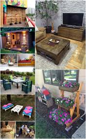 shipping pallet furniture ideas. Cool Projects Made From Shipping Pallets Wood Pallet Furniture Ideas