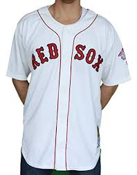 Mitchell Ness Wade Boggs Red Sox 1987 Jersey