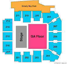 Adams Event Center Tickets Adams Event Center Seating Chart
