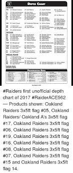 Oakland Depth Chart 2017