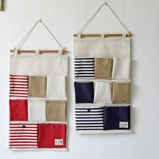wall hanging organizer office. 8 Pockets Portable Toy Stifching Storage Bag Cotton And Linen Office Bedroom Wall Pocket Eco- Hanging Organizer A