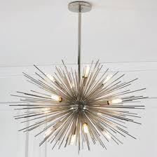 cheap modern lighting fixtures. Mid-Century Modern Moonbeam Chandelier - 12-Light Cheap Lighting Fixtures