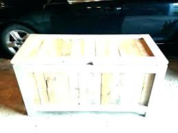 diy storage trunk furniture storage chest coffee table trunk outdoor bench painted pine antique white b