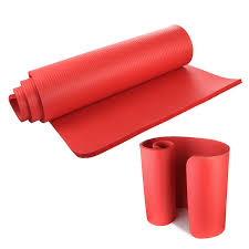 <b>Yoga Mat</b> 15mm Thick Exercise Fitness Physio Pilates Gym Mat Non ...