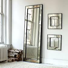 white leaning floor mirror. Square Floor Mirror Leaning Antique White Wall Large
