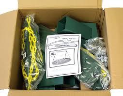 swing sets hardware kit classic hardware kit in box with swing set plans swing n slide