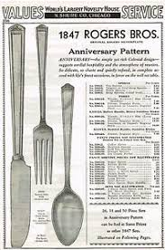 1847 Rogers Bros Patterns Stunning 48 AD ANNIVERSARY PATTERN 48 ROGERS BROS SILVERPLATE ANCESTRAL