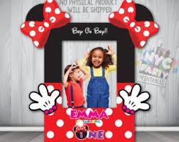 Minnie booth frame | Etsy