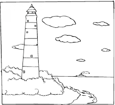 Small Picture Coloring Page Lighthouse Coloring Pages Coloring Page and