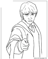 Small Picture ronald weasley from harry potter series Coloring pages Printable