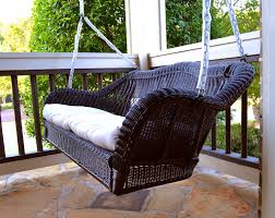 tortuga outdoor portside wicker swing swings